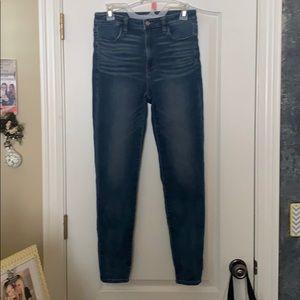 dark denim american eagle jeans